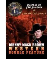 JOHNNY MACK BROWN Western Double Feature VOL 2