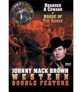JOHNNY MACK BROWN Western Double Feature VOL 4