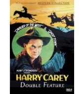 HARRY CAREY Western Double Feature VOL 1