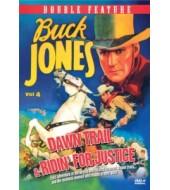 BUCK JONES Western Double Feature VOL 4