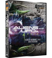 ALIENS AND UFOS 5 PACK