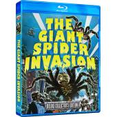 GIANT SPIDER INVASION, THE – DELUXE COLLECTOR'S EDITION - Blu Ray