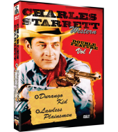 CHARLES STARRETT Western Double Feature