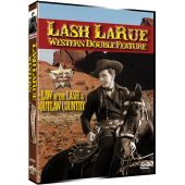 LASH LARUE WESTERN DOUBLE FEATURE