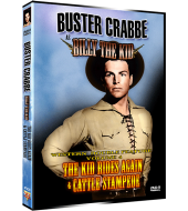 BUSTER CRABBE as BILLY THE KID – WESTERN DOUBLE FEATURE VOL 4
