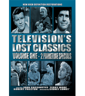 TELEVISION'S LOST CLASSIC'S - VOLUME ONE JOHN CASSAVETES