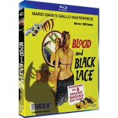 BLOOD AND BLACK LACE (BLU-RAY/DVD COMBO)