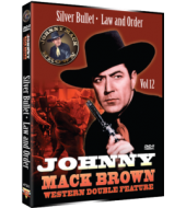 JOHNNY MACK BROWN Western Double Feature VOL 12