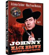 JOHNNY MACK BROWN Western Double Feature VOL 9