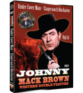 JOHNNY MACK BROWN Western Double Feature VOL 14