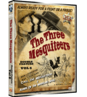 THREE MESQUITEERS Western Double Feature VOL 6