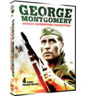GEORGE MONTGOMERY ACTION PACK