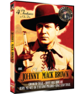 JOHNNY MACK BROWN CLASSIC WESTERNS - Four Feature