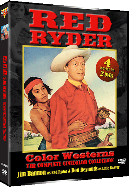 RED RYDER WESTERNS – THE COMPLETE CINECOLOR COLLECTION