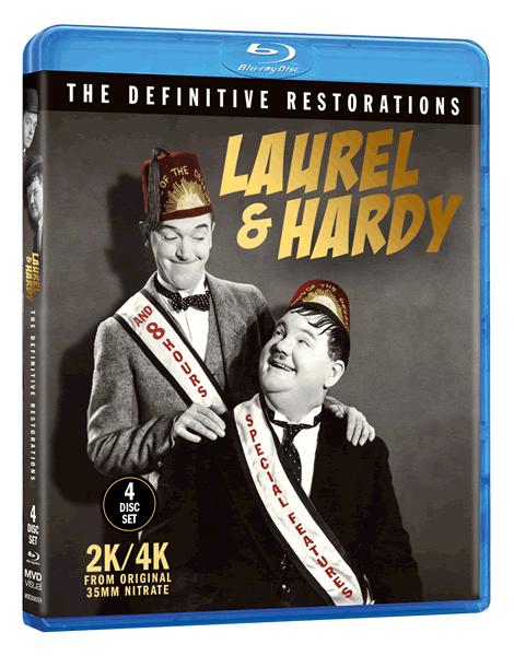 Laurel Hardy Definitive Restorations