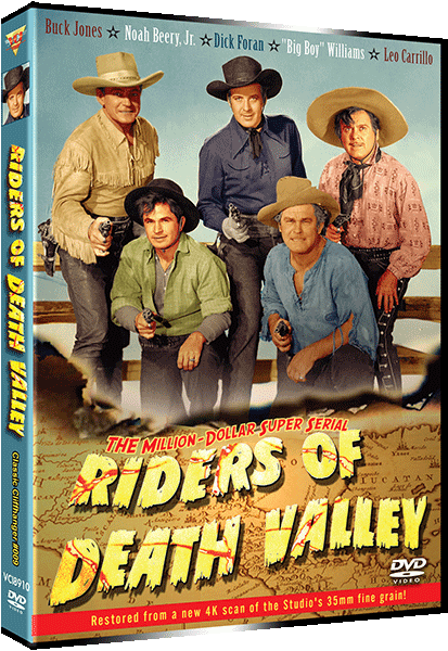RIDERS OF DEATH VALLEY DVD