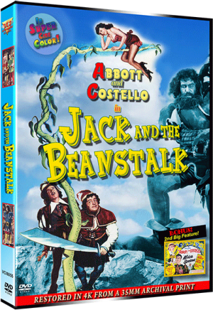 JACK AND THE BEANSTALK - 4K RESTORATION SPECIAL EDITION DVD