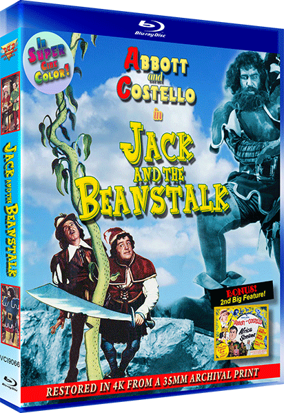 JACK AND THE BEANSTALK - 4K RESORATION SPECIAL EDITION BLU-RAY